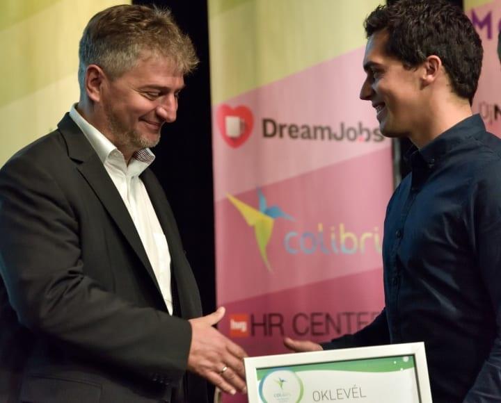 Colibri Internship Awards díjat kapott a WTS Klient