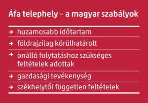 áfa telephely