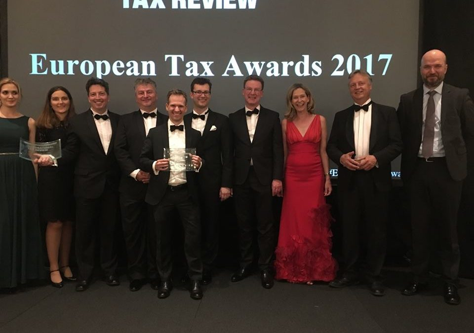WTS wins two awards at the European Tax Awards 2017