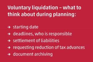 voluntary liquidation
