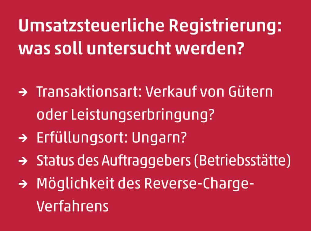 umsatzsteuerliche registrierung - Reihengeschaft Beispiele