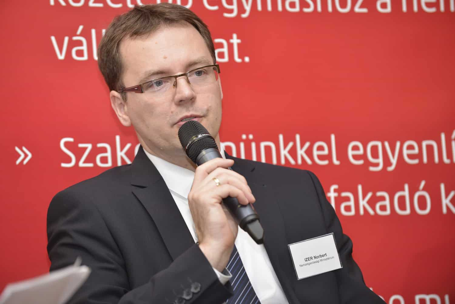 Norbert Izer, Deputy State Secretary responsible for tax regulation and accounting, Ministry for National Economy (NGM)