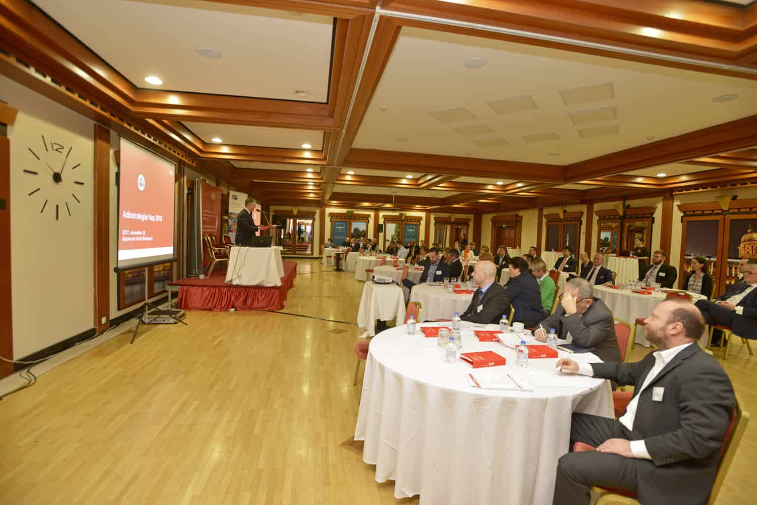 The first Tax Strategy Day in Aquincum Hotel