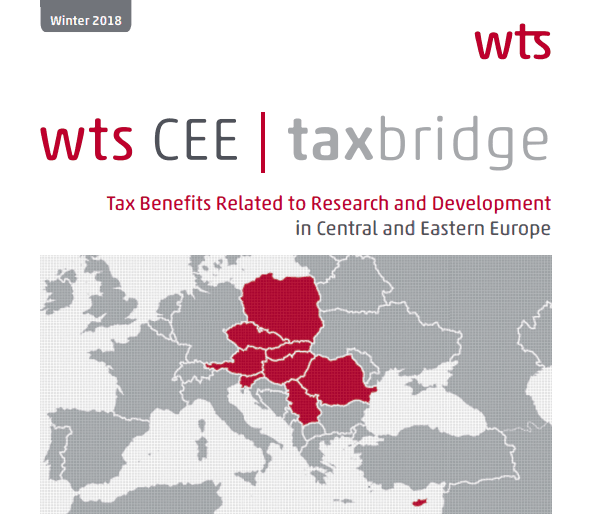 Tax benefits related to research and development in Central and Eastern Europe
