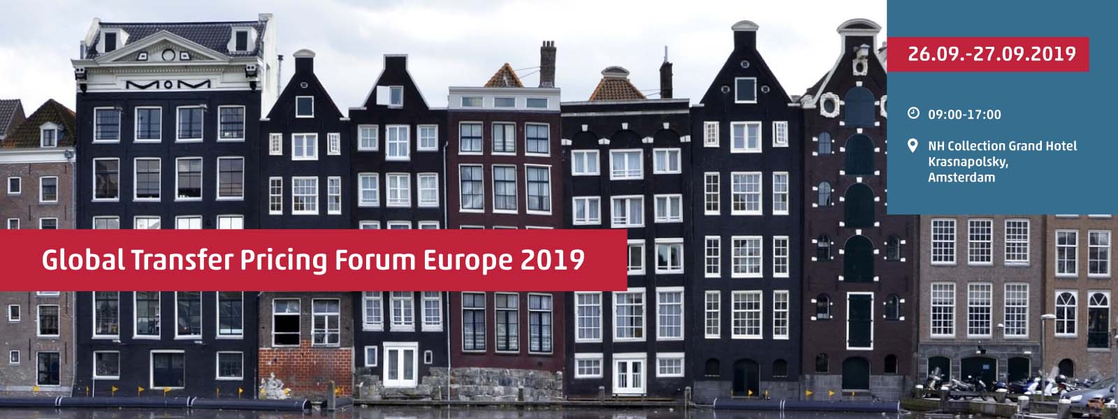 Global Transfer Pricing Forum Europe 2019