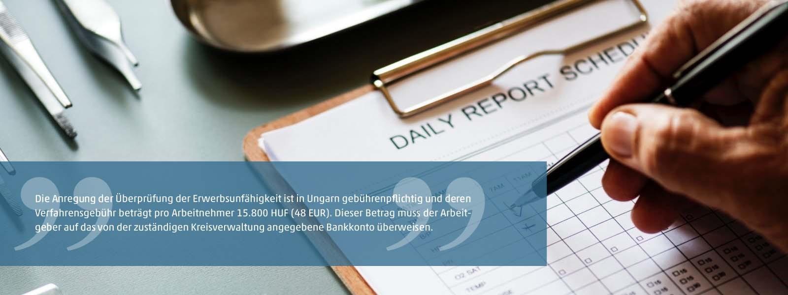 Anregung der Überprüfung der Erwerbsunfähigkeit durch den Arbeitgeber