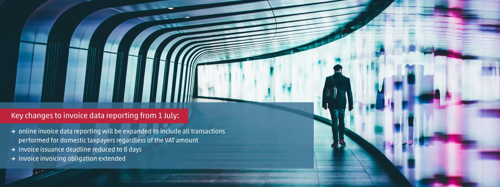 Invoice data reporting still to be expanded from 1 July – no deferment!