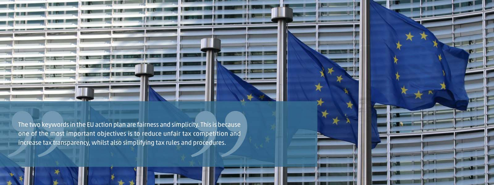 New EU tax package for fair and simple taxation
