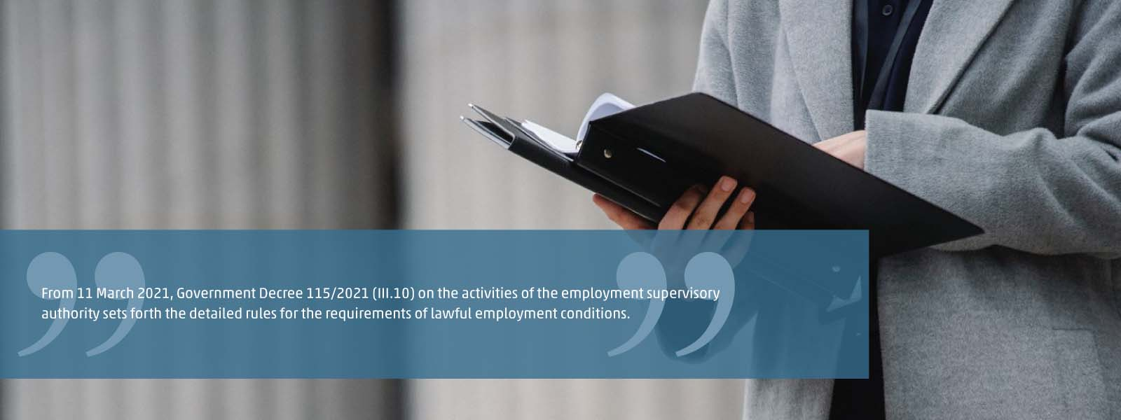lawful employment conditions